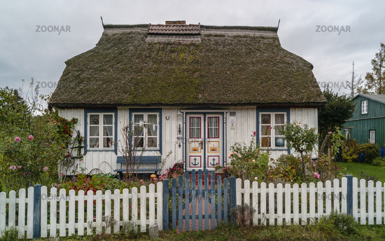150-year-old thatched house in Born