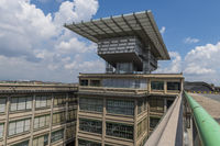 Lingotto Building with Test Track and building Renzo Paino