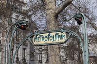 Paris Metro Schild