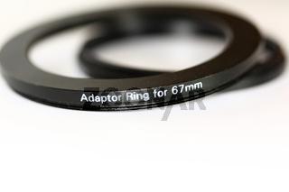 Ein Paar Objektiv Adapterringe