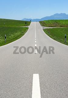 Die Straße zum Horizont