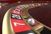 Casino roulette background
