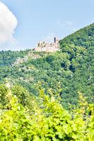 Chateau de Saint-Ulrich near Ribeauville, Alsace, France