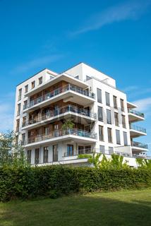 Modernes Mehrfamilienhaus in Berlin