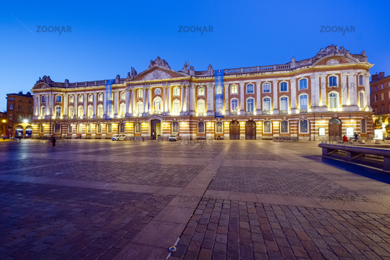 Town hall Le Capitole, Toulouse, France