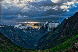 Bergwelt in Norwegen
