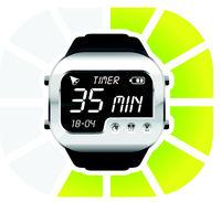 digital watch timer 35 minutes