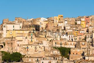 Die Altstadt von Ragusa Ibla in den letzen Sonnenstrahlen
