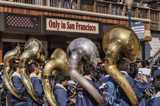 San Gabriel High School Brass Band