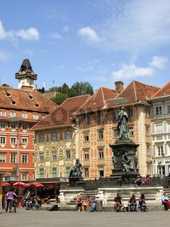 Hauptplatz Graz / Main square Graz