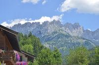 Wilder Kaiser in Tyrol