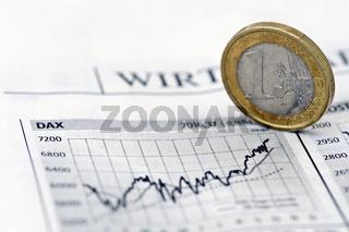 DAX und Euro