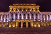 Royal palace in Budapest Hungary