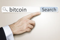 web search for bitcoin