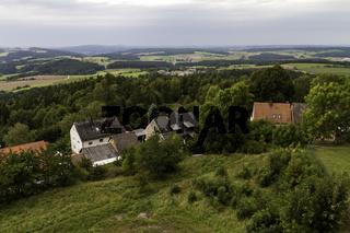 Aussicht von Burg Leuchtenberg