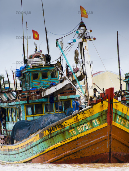Fishing boats - Mekong, Vietnam