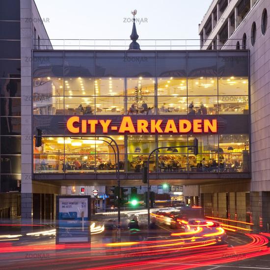 shopping mall City-Arkaden, Wuppertal, Bergisches Land, North Rhine-Westphalia, Germany, Europe