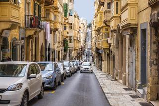 Street Parking, Valletta, Malta