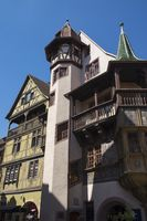 Colmar, the House Pfister, built in 1537 in the Rue des Marchands