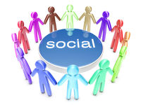 Multiethnic Social Network