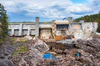 Dam in Imatra, Finland