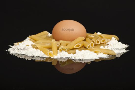 flour and pasta