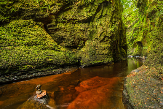Glen Finnich in Scotland