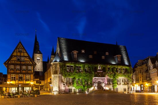 UNESCO World Heritage City Quedlinburg, Harz Mountains, Saxony-Anhalt, Germany