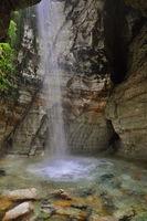 Waterfall in the church of trolls