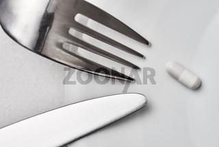 Messer, Gabel, Kapsel