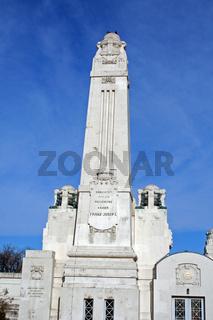 Portal Zentralfriedhof