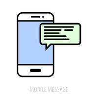 Mobile Message concept