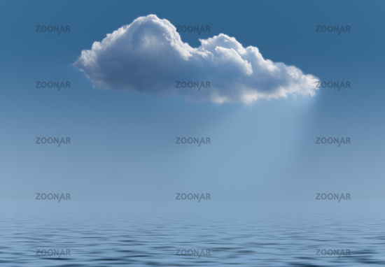Illustration of cloud computing web services architecture