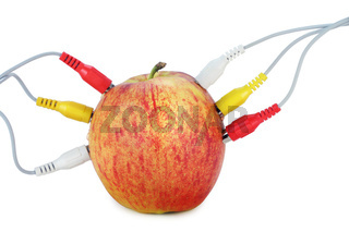 Apple  in network