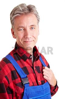 Älterer Heimwerker