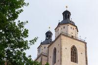 Church towers St. Marien
