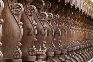 Chorstühle im Münster Bad Doberan
