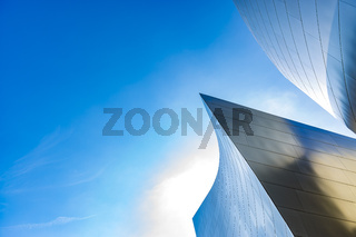 Disney Concert hall minimalism photo