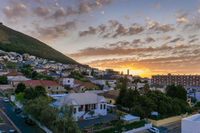 Sunset over Cape Town