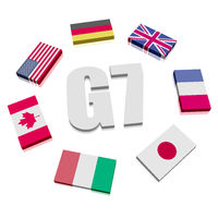Group of Seven Flags