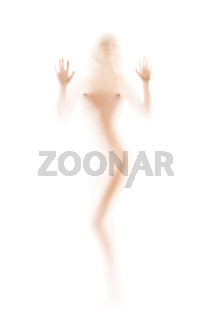 naked female silhouette