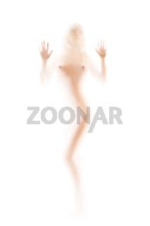 naked female silhouette