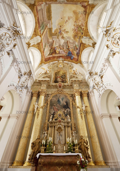 Church of Maria Immaculata, Jesuit church, Bueren, North Rhine-Westphalia, Germany, Europe