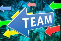 Team text concept
