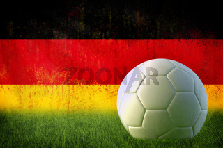 Germany soccer grunge wall