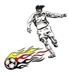 Fußballmotiv Deutschland