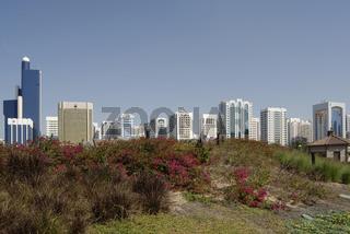 Abu Dhabi Sky Line, Architektur, architecture