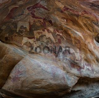 Cave paintings and petroglyphs Laas Geel, Hargeisa, Somalia
