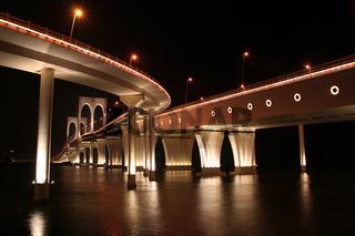 Governor Nobre de Carvalho Bridge in Macau