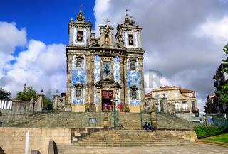 Saint Ildefonso church, Porto, Portugal